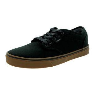 Vans Mens Atwood Black Gumsole Sneakers, sz 12